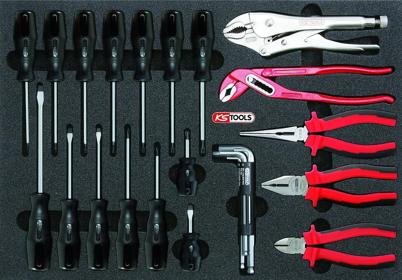 KS Tools 815.1150 Schraubendreher- und Zangen-Satz, 27-tlg. in 1 1 Systemeinlage B001H30V30 | Erste Kunden Eine Vollständige Palette Von Spezifikationen