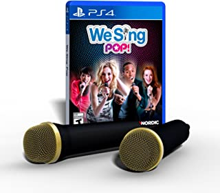We Sing Pop! 2-Mic PS4 Bundle Edition