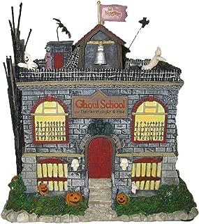 Hawthorne Village Universal Studios Munsters Collection Eddie's Schoolhouse Collectible Halloween House Display