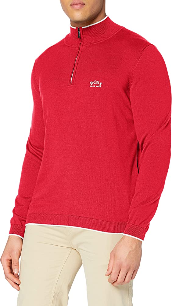 Hugo boss, pullover,felpa per uomo,100% cotone 50440712R