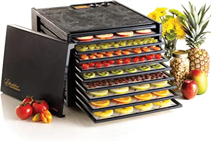 Excalibur 3926TB 9-Tray Electric Food Dehydrator with Temperature Settings and 26-hour Timer...