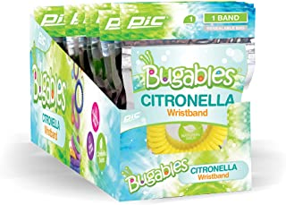 PIC Bugables Citronella Coil Wristbands (Pack of 25)