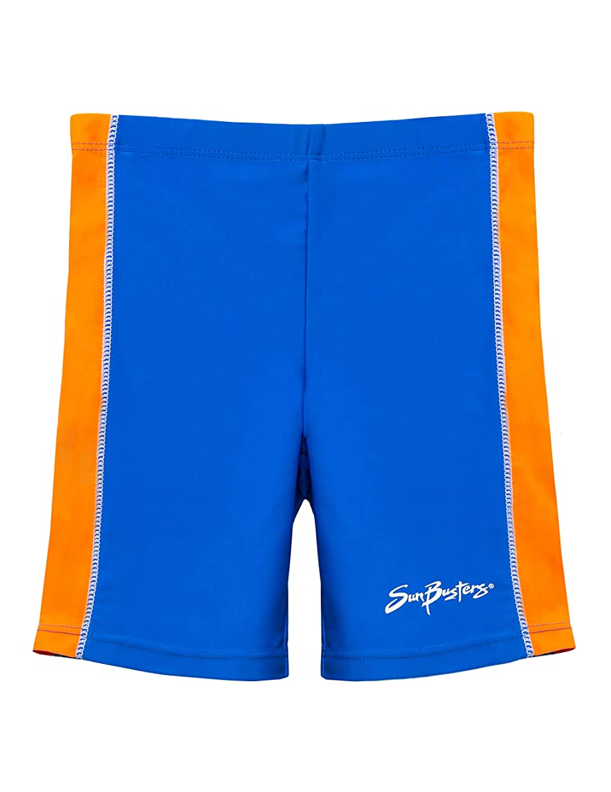SunBusters Boys Swim Shorts 12 mos - 12 yrs, UPF 50+ Sun Protection