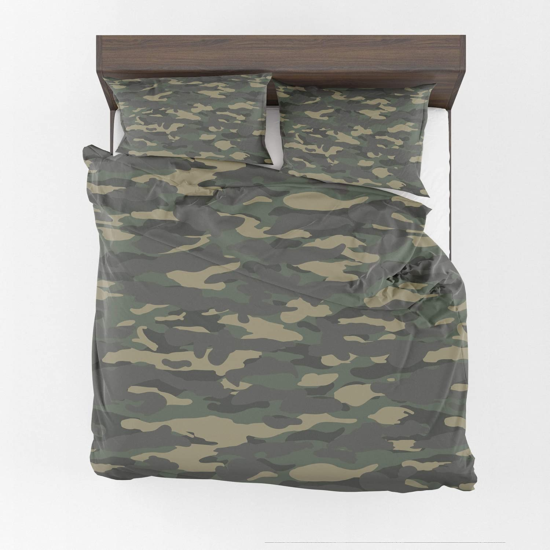 Cheap bargain CB Tucson Mall Smiles Camo Duvet Cover Bedding Camouflage duv Man camo