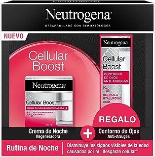Neutrogena Cellular Boost Anti-ageing, Regenerating Night Cream Pack + Anti-rimpel Verjongende oogcontour