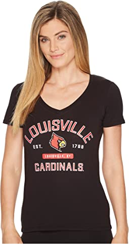 Louisville Cardinals University V-Neck Tee