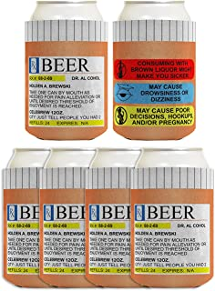 Best prescription bottle can koozie Reviews