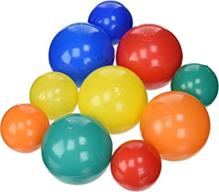 Sammons Preston Assorted Pool Balls, Set of 500, 3