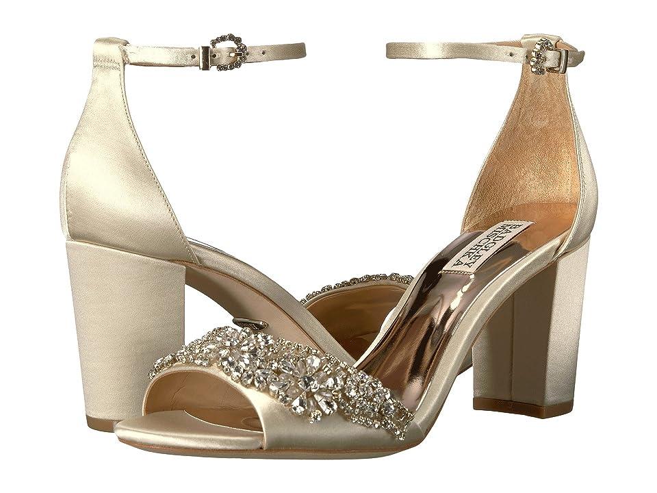Badgley Mischka Hines (Ivory Satin) High Heels