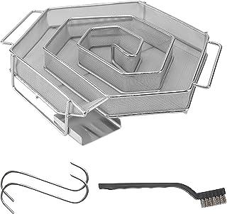 riijk Generator zimnego dymu do wędzenia na zimno w wędzarni, grillu itd. | Ślimak wędzarniczy 6-kątny – oszczędna generat...