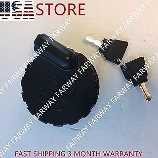 331/45908 331/33064 JCB Diesel Fuel Tank Side Lock Cover Cap 4'' with 2 Keys