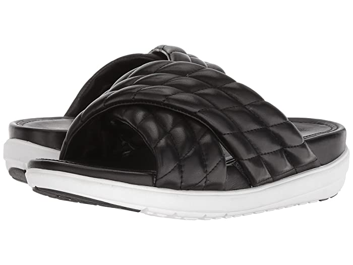 169c86f81 FitFlop Loosh Luxe™ Cross Slide Leather Sandals at 6pm