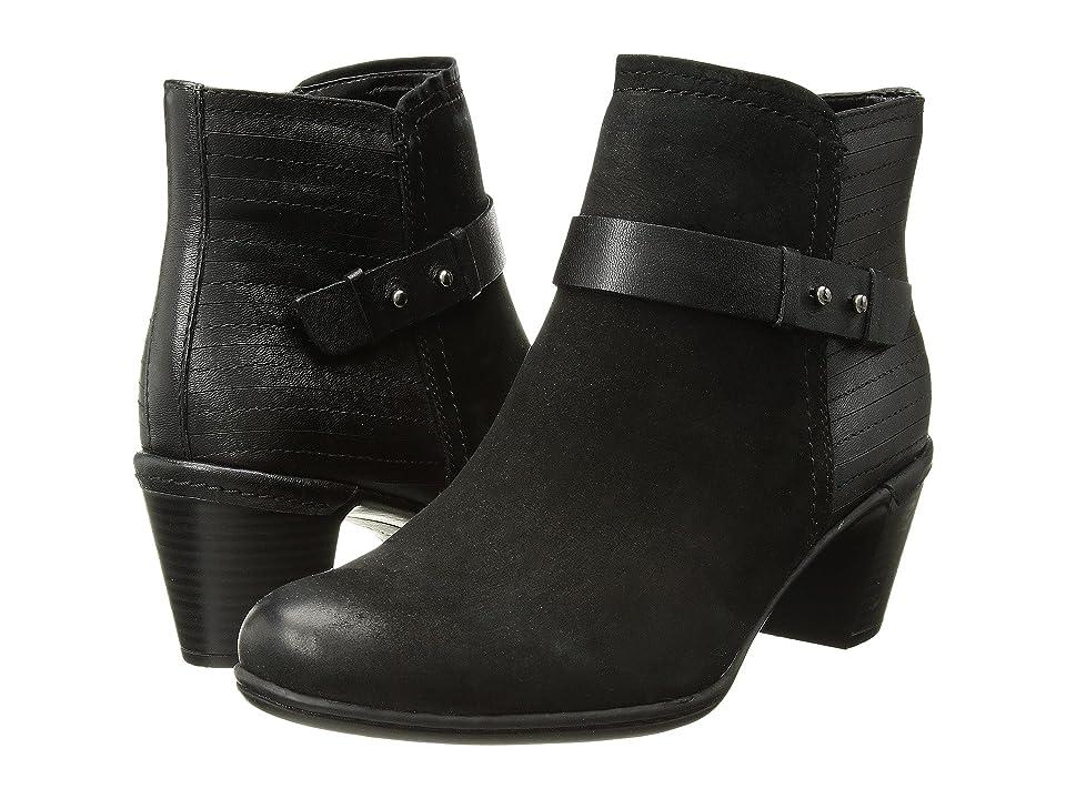 Rockport Cobb Hill Collection Cobb Hill Rashel Buckle Boot (Black Nubuck) Women
