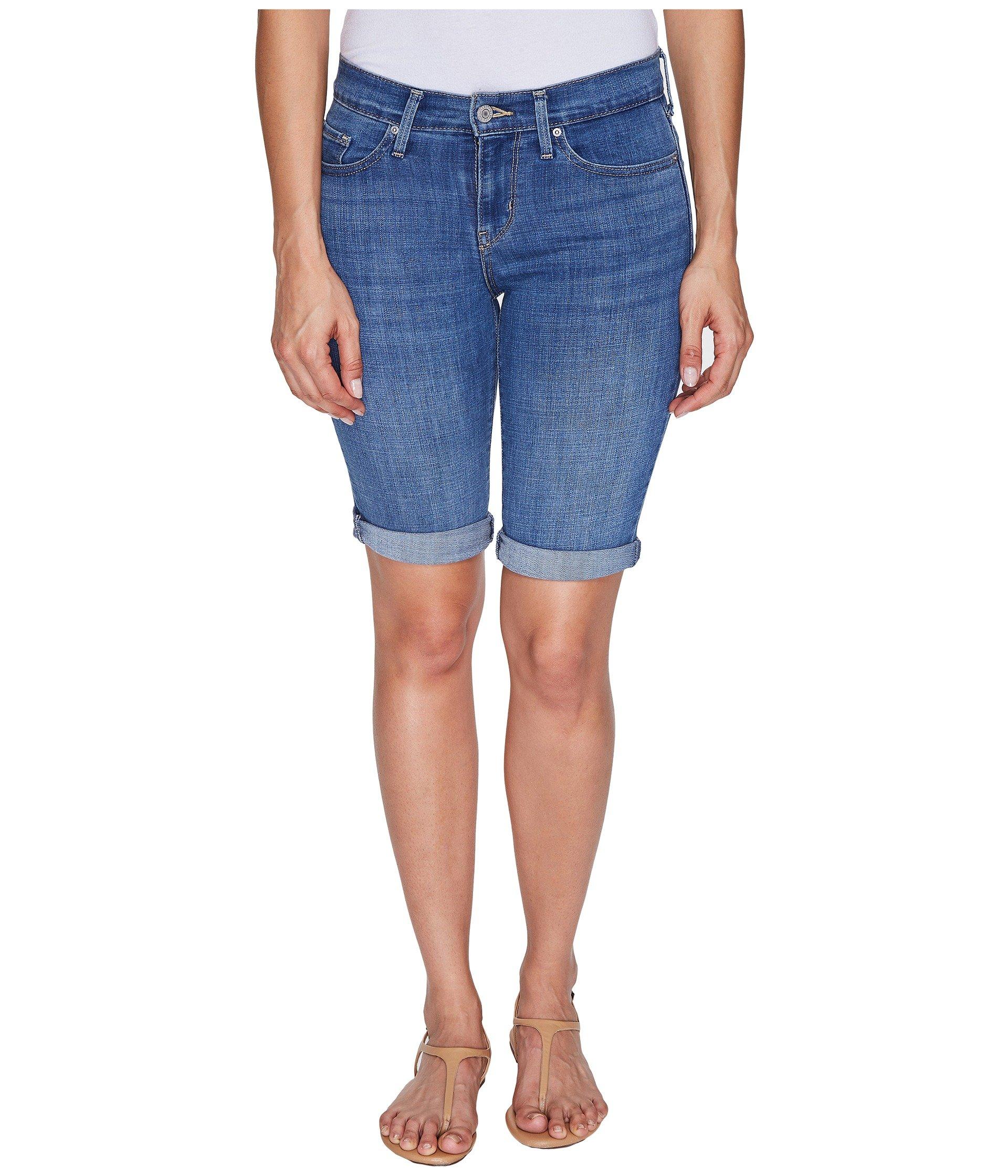 Levi's® Womens Bermuda Shorts at Zappos.com