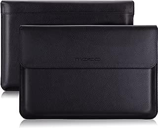 MoKo 10-11 Inch Tablet Sleeve Case Bag, PU Leather Cover Fits iPad Pro 11 2018, iPad 10.2 2019, iPad Air 3 10.5