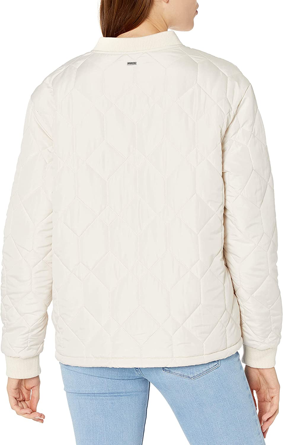 RVCA Women's Downtown Quilted Bomber Jacket