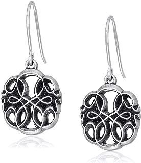 Alex and Ani Womens Path of Life Hook Drop Earrings, Rafaelian