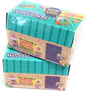 Shopkins Happy Places Blind Packs New Stable Petkins (2-pack bundle!)
