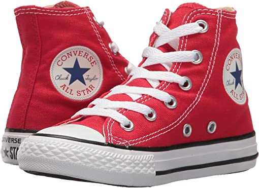 Boy's Converse Kids Red + FREE SHIPPING