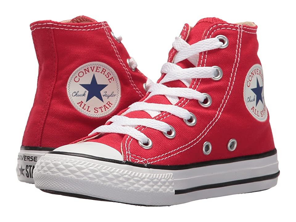 Converse Kids Chuck Taylor(r) All Star(r) Core Hi (Little Kid) (Red) Kids Shoes