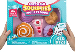 Soft n Slo Squishies 5 PACK LIMITED EDITION Sweet Shop (CINNAMON ROLL BOX)