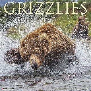 Grizzlies 2020 Wall Calendar