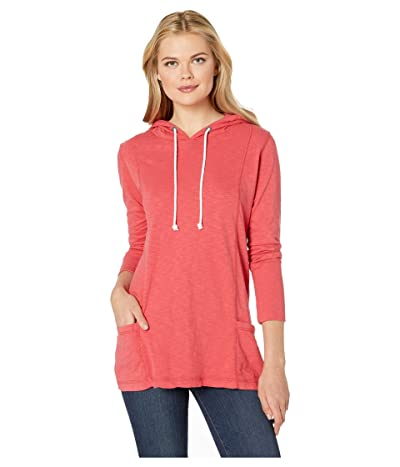Jag Jeans Gemma Hooded Tunic (Parrot Tulip) Women