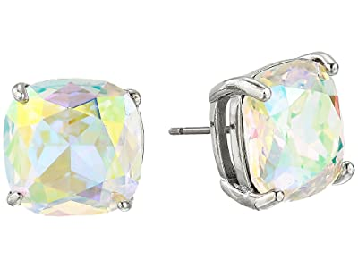 Kate Spade New York Small Square Studs (AB Silver) Earring