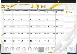 """2020-2021 Desk Calendar -18 Months Desk Calendar 2020-2021, Desk/Wall Monthly Calendar Pad, 17"""" x 12"""", January 2020 - June..."""