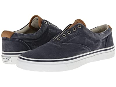 Sperry Striper CVO Salt-Washed Twill (Navy) Men