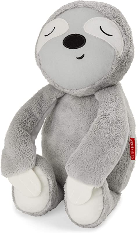 Skip Hop Cry Activated Baby Sleep Soother Nursery Sound Machine Plush Sloth