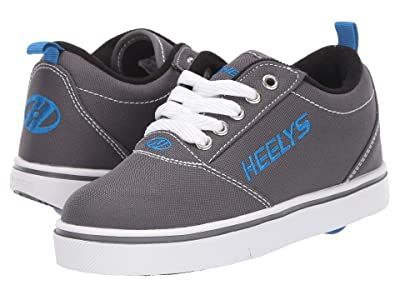 Heelys Pro 20 (Little Kid/Big Kid/Adult) (Grey/White/Royal) Kid
