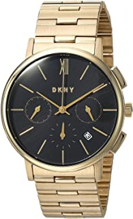 DKNY Willoughby Women's Black Dial Stainless Steel Band Watch - NY2540