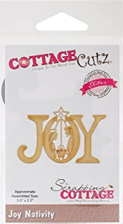 CottageCutz CCE-475 Elites Dies-Joy Nativity 3.5 inches X2.2 inches