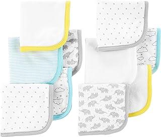Simple Joys by Carter's Baby Juego de 10 paños de baño, paquete variado, talla única