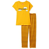 [Size 2- 3Y] Amazon Brand – Jam & Honey Girls Pajama Set