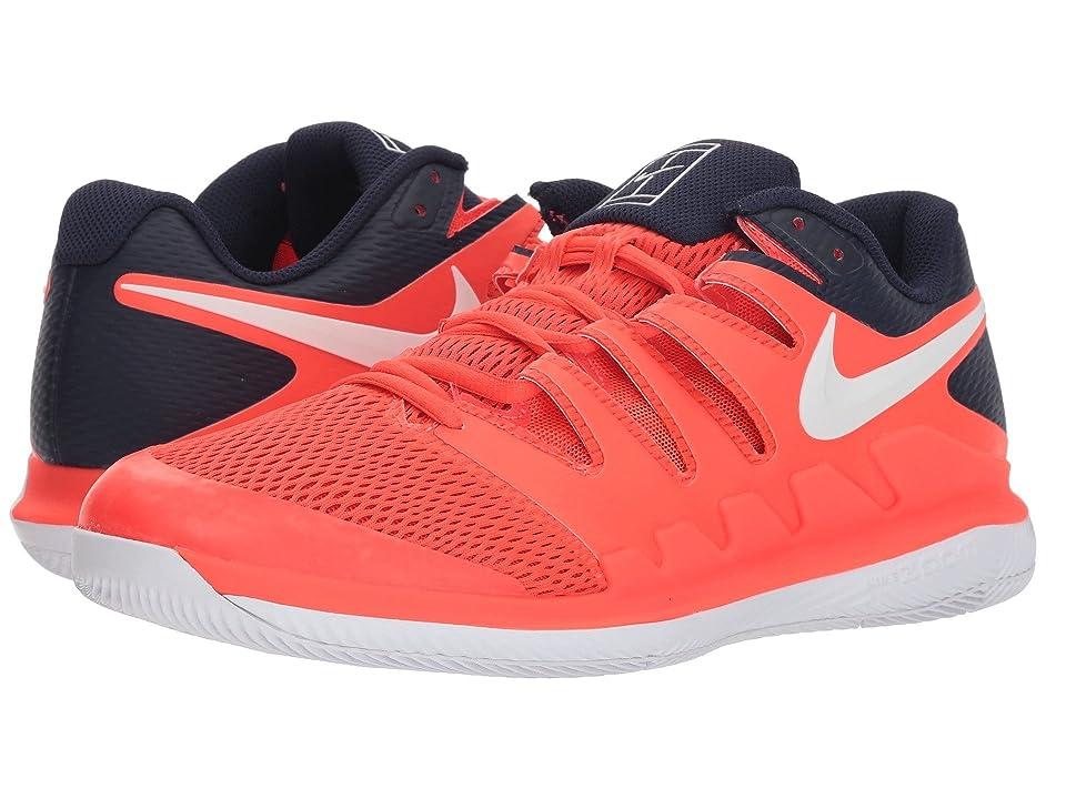 Nike Air Zoom Vapor X (Bright Crimson/White/Blackened Blue) Men