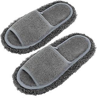 Xunlong Microfiber Slippers Unisex Slipper Floor Cleaning Mop Men and Women House Slippers Dusting Slippers Floor Cleaning...
