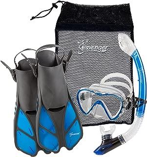 Seavenger Aviator Snorkeling Set with Gear Bag