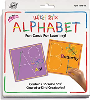 WikkiStix Alphabet Cards Set