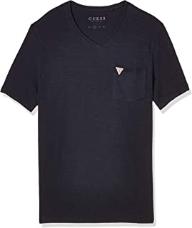 GUESS Men's V Core Bar T-Shirt