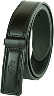 Dickies Men's Leather Work Belt - Tactical Industrial Strength Heavy Duty Strap With No Scratch Buckle