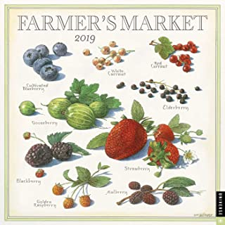 Farmer's Market 2019 Wall Calendar - coolthings.us