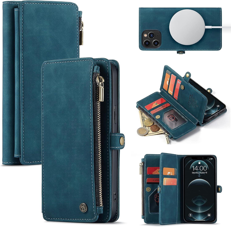 Caseme Magnetic Wallet Case Designed for iPhone 12 & 12 Pro (6.1