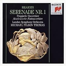 Brahms: Serenade No. 1, Op. 11, Tragic Overture, Op. 81 & Academic Festival Overture, Op. 80