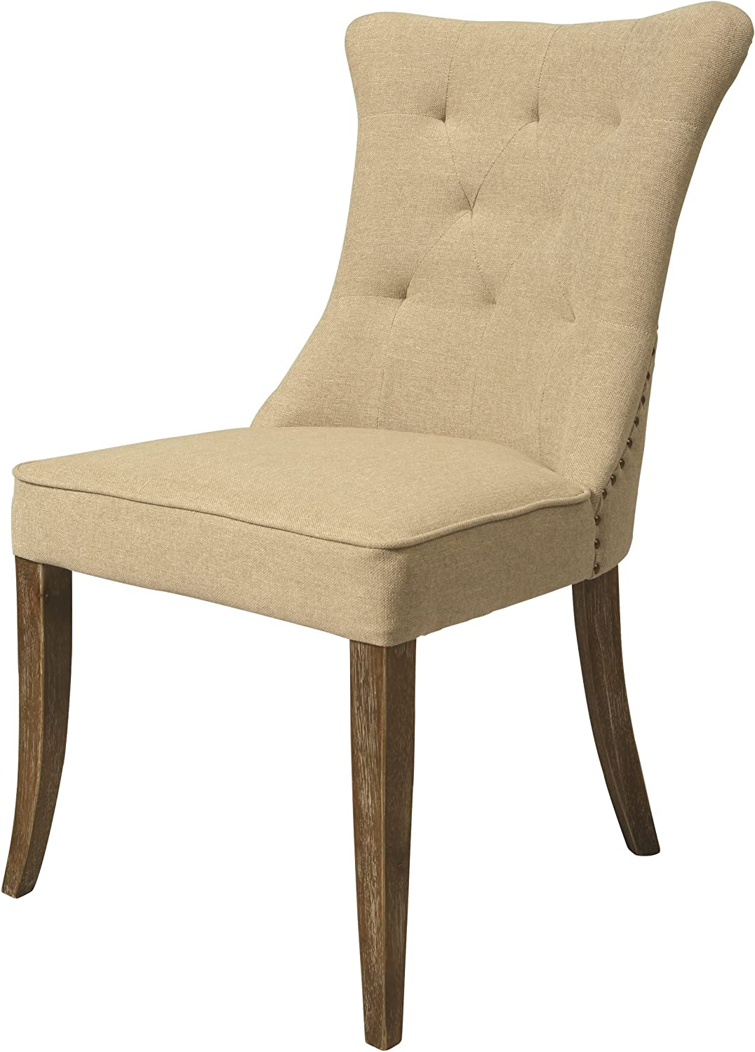 Impacterra Kamioka Side Chair, Cream My Linen, (QLKM11036058)