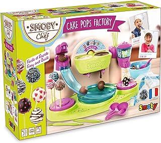 Smoby Chef - Cake Pops Factory - Fabrique à Cake Pop + Livre de Recettes - Atelier de Cuisine Enfant - Nombreux Accessoire...