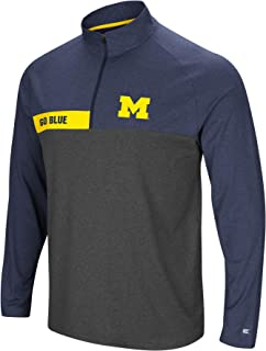 Colosseum Men's NCAA-No Mercy-1/4 Zip Pullover Windshirt