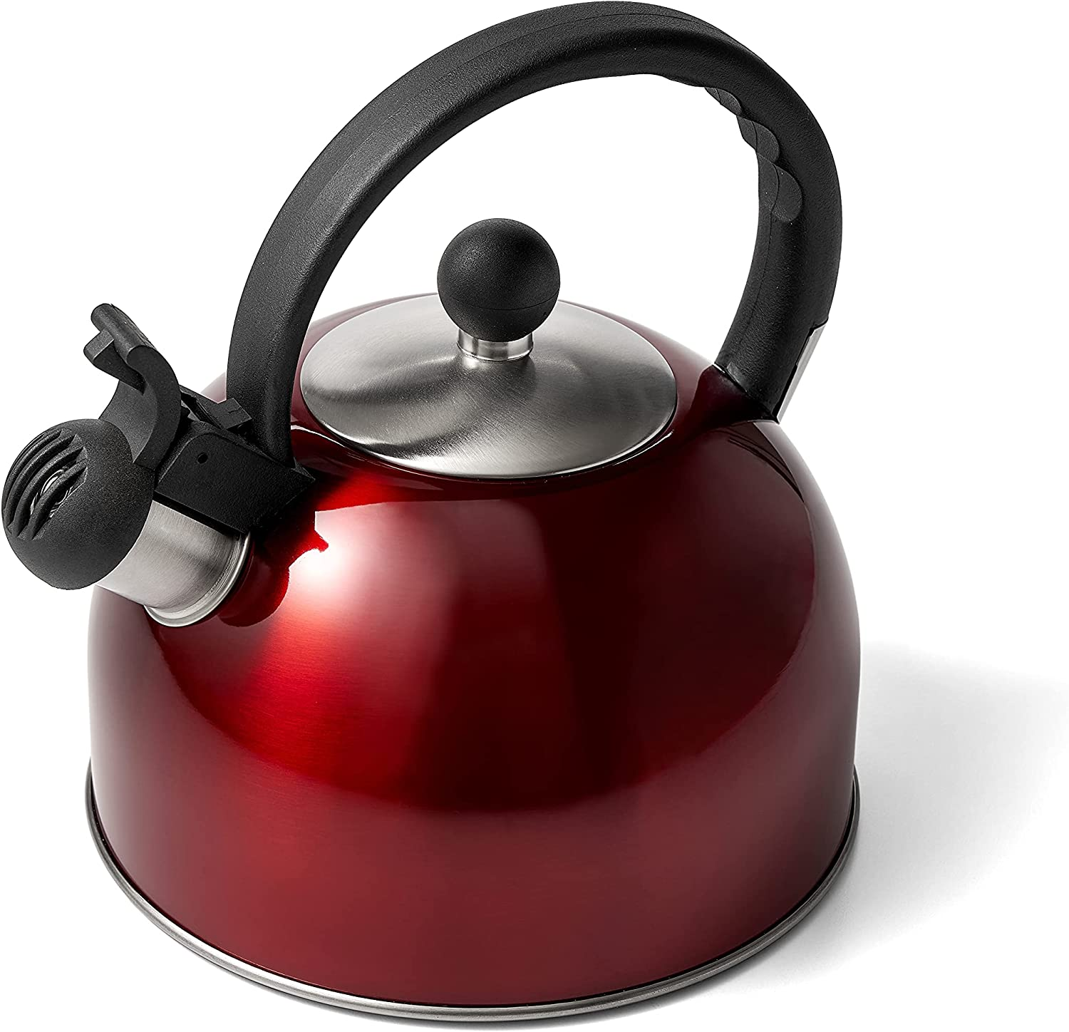 Diamond Home 2.5 Liter Special sale item Stainless Steel Max 80% OFF Mo Tea Kettle Whistling -