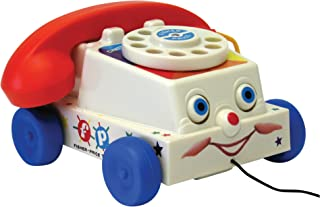 Basic Fun Fisher Price 经典复古Chatter电话